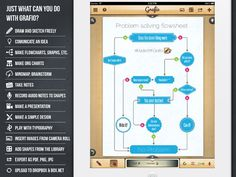 Grafio Lite ipad app Create stunning diagrams, graphs and other designs with this vector diagramming
