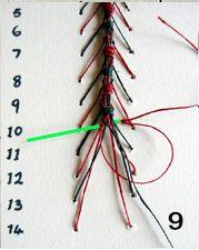 caterpillar stitch tutorial, pra um dia quem sabe ?
