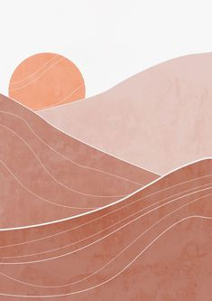 Aesthetic Patterns Discover Modern bohemian abstract desert printable wall art The picture shows the desert and the orange rising sun. Minimal Art, Do It Yourself Inspiration, Pastel Wallpaper, Modern Bohemian, Picture Wall, Printable Wall Art, Aesthetic Wallpapers, Cute Wallpapers, Wall Art Prints