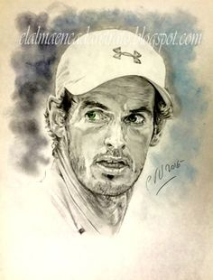 El alma en cada retrato: Andy Murray, uno de los grandes del tenis.