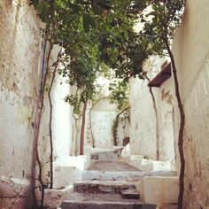 Stairwell in the old town of Ibiza #ibiza #fiesta #beaches #summer #architecture