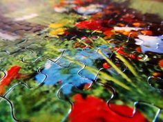 Pieces by Zinvolle - No missing pieces! Missing Piece, Objects, Painting, Art, Art Background, Painting Art, Kunst, Gcse Art, Paintings