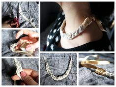 Do it yourself necklace. DIY My christmas Gift, good idea for a gift.