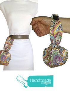 Bolso de mano o cinturón CACHEMIR Handmade, ideal para ir de paseo, a bailar etc. Con hebilla clip para colgar en el cinturón. Para el móvil, las llaves, pañuelos, cartera etc. Lavable. Exclusivo y patentado. https://www.amazon.es/dp/B0728K6YYK/ref=hnd_sw_r_pi_dp_kIeozbADJ67R2 #handmadeatamazon