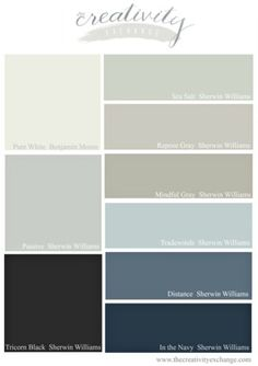 2016 Best Selling and Most Popular Sherwin Williams Paint Colors. The Creativity Exchange