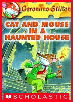 Geronimo Stilton #3: Cat and Mouse in a Haunted House by Geronimo Stilton, http://smile.amazon.com/dp/B005E887S0/ref=cm_sw_r_pi_dp_Mznfvb17YR8XR