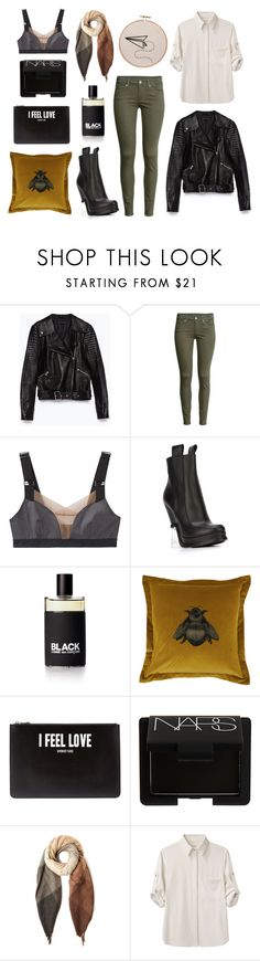 """""""I take my chances alone, get on your horse and be gone"""" by leah-lovely ❤ liked on Polyvore featuring Zara, H&M, VPL, Fendi, Timorous Beasties, Givenchy, NARS Cosmetics, Paul Smith and rag & bone"""