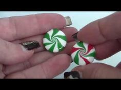 Swirly Lentil Bead Technique, Polymer Clay Tutorial
