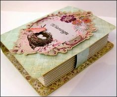 Bookcard. Cardmaking.