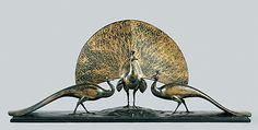 Gaston Lachaise (American (born France) 1882–1935). The Peacocks, 1922. The Metropolitan Museum of Art, New York. Gift of H. N. Slater, 1950 (50.173) #peacock