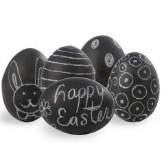 Chalkboard eggs! | Easy #DIY Easter Crafts - Parenting.com