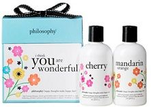philosophy gift set Ruelala $20 FREE = FREE Philosophy beauty gift set, Tommy Hilfiger towel set, pillowcases, kids toys, kids stools, sheet...