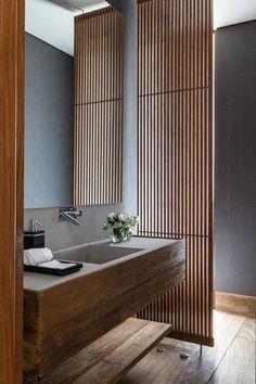 cool RESIDNCIA MO, Sao Paulo, 2014 - Reinach Mendonça Arquitetos Associados - Luxury Abodes #Contemporarybathrooms