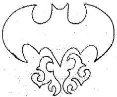 Cool Batman Symbol Tattoo Design Logo Bat