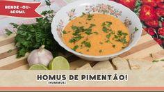 Homus (Hummus) de Pimentão - Receitas de Minuto EXPRESS #82