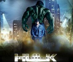 Edward Norton as the incredible Hulk