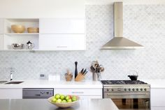 Ceramic tile is excellent for floors, countertops, and backsplashes. Explore our collection featuring wood-look planks, pattern tiles, and natural stone. Kitchen Tiles, Kitchen Countertops, New Kitchen, Kitchen Cabinets, Kitchen Design, Wooden Kitchen, Kitchen Colors, White Cabinets, Kitchen Decor
