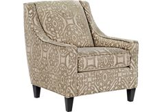 Cindy Crawford Home Sidney Road Taupe Accent Chair-Accent Chairs (Beige)