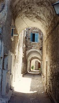 Narrow Street - Mesta, Chios Beautiful World, Beautiful Places, Places Ive Been, Places To Go, Chios, Greek Islands, The Good Place, Greece, Vacation