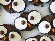 Halloween Owl Brownies