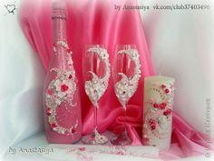 Декор предметов Свадьба Лепка Свадебный набор Вуаль Пластика фото 1