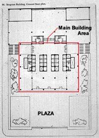 Seagrams Building Plan