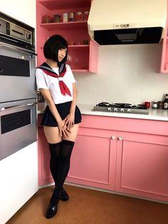School Girl Japan, School Girl Outfit, Japan Girl, Beautiful Japanese Girl, Beautiful Asian Women, Cosplay Outfits, Cosplay Girls, Cute Asian Girls, Cute Girls