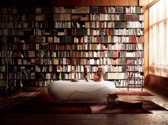 books and bathtubs
