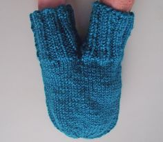 Smitten, Love-Glove, Couples Double Mitten, Dark Turquoise Smitten, Lovers' Glove, Valentines Day Gift