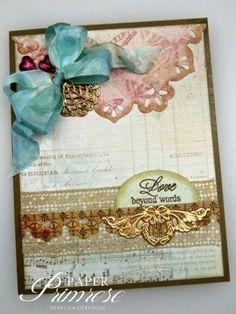Beautiful! Card by Rebecca Deeprose (Paper Primrose)