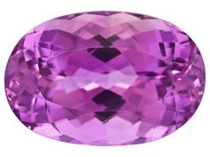Kunzite's color can range from a soft lavender to this striking beauty. Signature Afghan Kunzite Minimum 25.68ct Mm Varies Oval  Laser Inscribed
