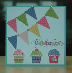 UK Independent Stampin' Up! Demonstrator - Julie Kettlewell: Sarah-Janes birthday!