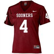 3a35b0c59703 Nike Oklahoma Sooners  4 Crimson Ladies Replica Football Jersey  Fanatics ®   fanaticswishlist Fan