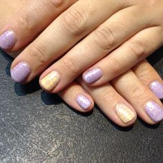 Lilac longing with honey darlin shellac and barley there stamping