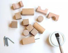 Ryan's Room Wooden Toys Bag O' Blocks, Remodelista