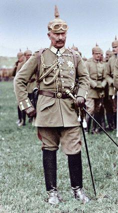 Last German Emperor Kaiser Wilhelm II.    Son Alman İmparatoru II. Wilhelm