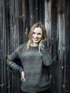 Nordic Yarns and Design since 1928 Knitting Charts, Knitting Patterns Free, Free Knitting, Knitting Ideas, Hand Knitted Sweaters, Wool Sweaters, Knitting Sweaters, Sweater Jacket, Knit Cardigan