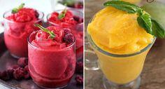 """Aprenda a fazer """"sorbet"""", uma sobremesa refrescante e natural para o verão!"""