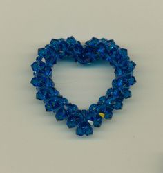 Swarovski Crystal Open Heart by Marcie Lynne. Price $60.00.