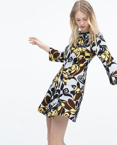 PRINTED DRESS - View all - Dresses - WOMAN | ZARA United States