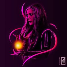 Marvel Neon: psychedelic wallpapers for your mobile devices - Avengers Endgame Marvel Avengers, Marvel Comics, Heros Comics, Wanda Marvel, Marvel Heroes, Marvel Characters, Flash Comics, Captain Marvel, Scarlet Witch Marvel