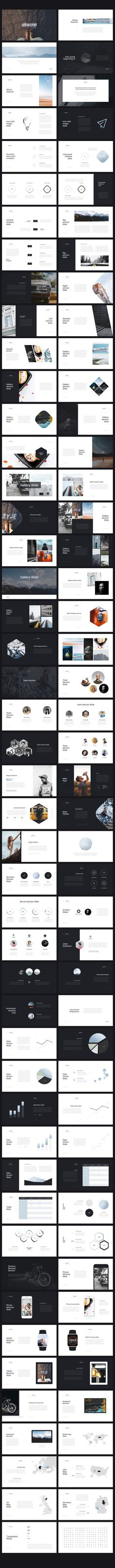 Assume Keynote Template by Entersge on @creativemarket