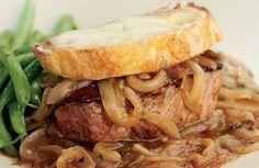 French Onion Beef Tenderloin  - Recipe