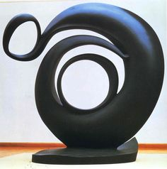 """""""Abstraction,"""" by Georgia O'Keeffe, sculpture"""