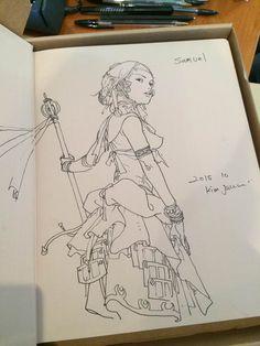 Kim Jung Gi | Portfolio