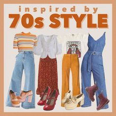 70s Inspired Outfits, 70s Inspired Fashion, 70s Outfits, Hippie Outfits, 70s Fashion, Vintage Outfits, Cool Outfits, Casual Outfits, Vintage Fashion