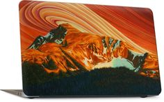 West Bowl by Chili Thom Macbook Skin, Laptop Skin, Landscape Paintings, Saturated Color, Whistler, First Nations, Art Reproductions, Impressionism
