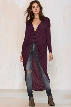 Drama Queen Top - Plum