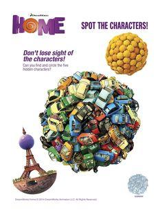 DreamWorks HOME Prin