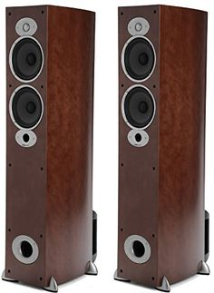 """Polk Audio RTI A5 Floorstanding Speaker PAIR, Cherry $ 799.90 Home Audio Speakers Product Features You Receive ONE PAIR.Single real wood floorstanding speaker with all MDF construction and resonance-free enclosures… Equipped with dual 6.5-inch dynamic balance mineral/polymer composite cone drivers… """"Features Power Port technology to reduce """"""""chuffing"""""""" or """"""""port noise""""""""""""… Equipped with one 1-inch silk/polymer composite dome tweeter… """"Features a neodynium magnet, low.."""